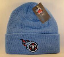 Tennessee Titans NFL Reebok Cuffed Knit Hat Blue