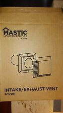 Mastic Intake or Exhaust Vent Assembly Khaki,Weathered Ash,Pebble Stone,N.Cedar