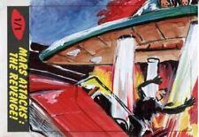 Mars Attacks The Revenge Sketch Card By Jennifer Allyn