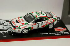 Ixo Presse Rallye Monte Carlo 1/43 - Toyota Celica Turbo 4WD 1993