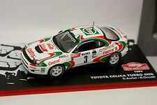 Ixo Carrera Rallye Montar Carlo 1/43 - Toyota Celica Turbo 4WD 1993
