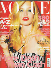 VOGUE Magazine (UK) November 2009 - Georgia Jagger
