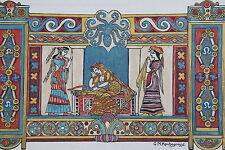 ROCHEGROSSE GEORGES, Odyssée d'Homere, illstations de rochegrosse, pour paraitre