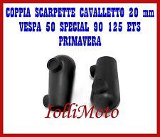 SCARPETTE PIEDINI CAVALLETTO PIAGGIO VESPA 50 SPECIAL R L N 125 ET3 PRIMAVERA