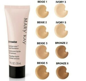 Mary Kay TimeWise LUMINOUS WEAR Liquid Foundation CHOOSE SHADE NEW Out of Box