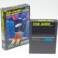 STAR JACKER 2nd Ver Sega SC-3000 Japan Import SG-1000 markIII NTSC-J Small Boxed