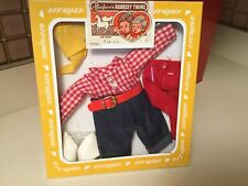 Vintage Effanbee 1982 Bobbsey Twins Out West Freddy Clothes Outfit New Box