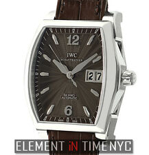 IWC Da Vinci Big Date Small Stainless Steel Brown Dial 36mm IW4523-06 NOS
