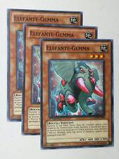 Set 3X  ELEFANTE-GEMMA  GENF-IT025 Comune in Italiano YUGIOH