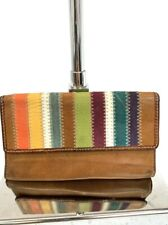 Fossil Patchwork Leather Wallet Organizer