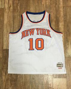 1972-73 Walt Frazier New York Knicks Mitchell & Ness Jersey NBA Finals