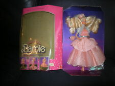Peach Pretty Barbie 1989 MIB so eighties hair!