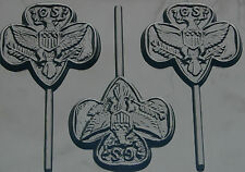 GIRL SCOUT LOLLIPOP CHOCOLATE CANDY MOLD MOLDS DIY PARTY FAVORS SCOUT FUNDRAISER