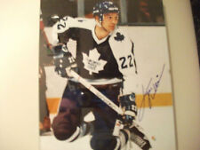 TIGER WILLIAMS TORONTO MAPLE LEAFS AUTOGRAPHED 8 X 10