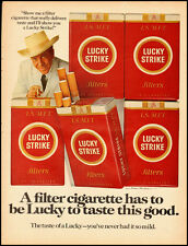 Vintage ad for Lucky Strike Cigarettes  (052912)