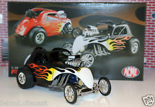 1/18 GMP FIAT Topolino in Black with flames NEW