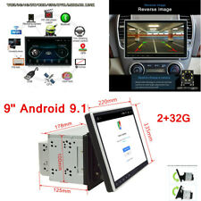 "9"" Android 9.1 2+32G Car Stereo Navigation GPS Radio Head Unit Mirror Link 2Din"