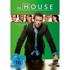 DR. HOUSE SEASON 4 - 4 DVD NEUWARE HUGH LAURIE,LISA EDELSTEIN,OMAR EPPS