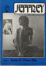 JEFERY MAGAZINE 1973 ISSUE 5# / GAY INTEREST, VINTAGE, CONTACT MAGAZINE, RARE