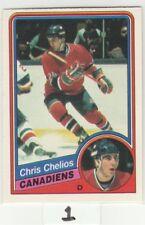 1984 84-85 O-Pee-Chee #259 Chris Chelios RC Rookie NmMt