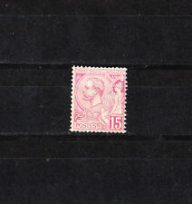 MONACO   prince  Albert 1er  15c  rose      de 1891/94   num: 15  *