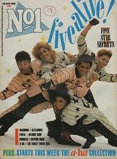 Five Star on Magazine Cover 1986    Mags of A-HA   Madonna   Belouis Some