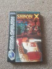 Shinobi X - Sega Saturn - PAL - Rare