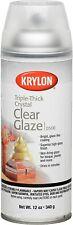 Krylon I00500A00 12 Oz Triple Thick Clear Glaze Aerosol Spray High Gloss Coat