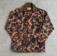 Vintage 1970s SafTbak Duck Camouflage Hunting Jacket sz M