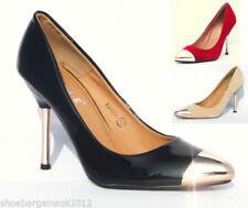 Stiletto Suede Slip On Heels for Women