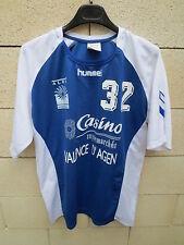 Maillot handball porté n°32 ALVA Valence D'Agen match worn shirt Hummel SR