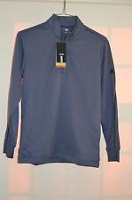 Adidas Golf Pullover Climalite top Gray Men size S Polyester NWT Shirts & Tops