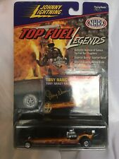 Johnny White Lightning Top Fuel Legends Yellow Red 1972 Tony Nancy NHRA