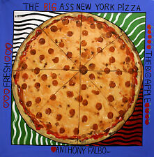 THE BIG ASS NEW YORK PIZZA ORIGINAL PAINTING ITALIAN FOOD POP ART ANTHONY FALBO