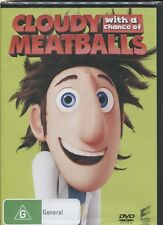 CLOUDY WITH A CHANCE OF MEATBALLS - Anna Faris, Bill Hader, Bruce Campbell - DVD