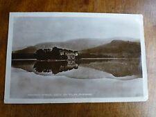 R084 Nature's Mirror lOCH an EILAN, AVIEMORE Scotland Postcard c1927