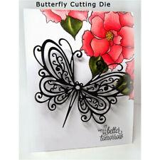 Butterfly Cutting Dies Stencil Scrapbooking Paper Cards Kids Handcrafts Decor K6