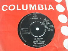 """GERRY AND THE PACEMAKERS -I'M THE ONE - COLUMBIA 7"""""""
