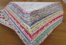 20pcs 20cm*25cm Remnant Cloth Cotton Charm Patchwork Quilting Crafts Fabric