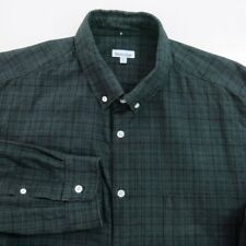 Steven Alan Mens Button Shirt Size XXL Long Sleeve Cotton Plaids
