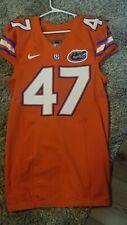 Florida Gators Game Worn Game Issued Jersey Orange Alt