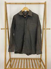 VTG Jesse James Men's Sun Faded Button Long Sleeve Work Shirt Size L
