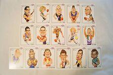AFL - Herald Sun Complete Set Caricature Cards ( Sealed ) Big, Big Names Here !!