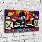 """34x20"""" Alec Monopoly """"IBIZA"""" New HD print on canvas rolled up contemporary art"""