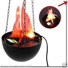 Lampada effetto fuoco finto Con Catenella Flammen Lamp fuoco artificiale finto