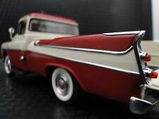 1958 Dodge Built Pickup Truck Sport 1 Vintage 25 Tailfin Classic Model Car Metal