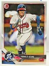 Ronald Acuna 2018 Bowman Prospect #BP1 - ATLANTA BRAVES Rookie RC
