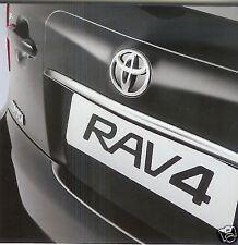 Genuine Toyota Rav4 Rear Chrome Garnish - PZ415-X0491-ZB