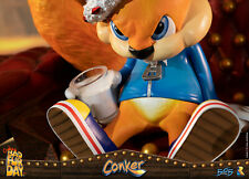 FIRST 4 FIGURES Conker's Bad Fur Day Conker Statue Figure NEW SEALED