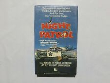 New World Betamax NOT VHS Night Patrol 1984 NEW SEALED O3
